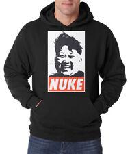 Trvppy Messieurs Hoodie Pull capuche Modèle Nuke Asia Corée Kim Fun Drôle Bomb