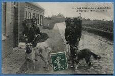 Nos Douaniers à la Frontière - Le Départ pour l'Embuscade /1910