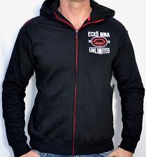 ECKO Unltd. MMA - ALL STAR HOODIE - Men's Zip Up Hooded Sweatshirt - NEW - Black
