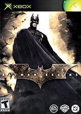 Batman Begins - Xbox, Very Good Xbox, Xbox Video Games