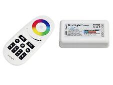 2.4G RGBW RGB LED Controller & 4-zone RF Remote Touch Remote WiFi Handy App