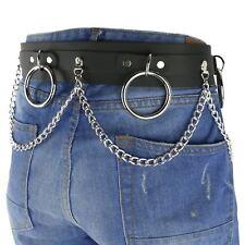 51mm SID Belt Heavy Metal Studded Mens Leather Jeans Wear Belt UK Handmade B865