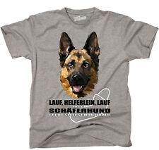 TWILDA T-Shirt Hunde LAUF HELFERLEIN LAUF Schäferhund fun WILSIGNS Siviwonder