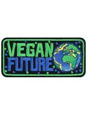 Patch Vegan Future Black 9 x 4cm