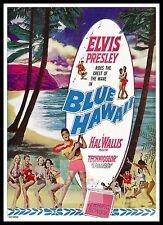 Blue Hawaii Elvis Presley    Movie Posters Musicals Vintage & Classic Cinema