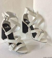 NEW SHELLYS LONDON Coessa White Sandals - MSRP $120.00!