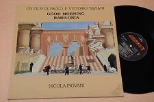 NICOLA PIOVANI LP BABILONIA COLO SONOR AORIGINALE 1°ST TOP NM ! MAI SUONATO
