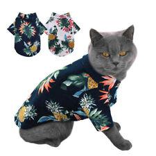 Pet Puppy Summer Shirt Small Dog Cat Pet Clothes Vest T Shirt Beach Style Pug