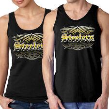NEW Steelers Tattoo Tribal Tank Top Pittsburgh Med Large XL 2X  Men Women