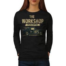 American Muscle Car Voiture Women Long Manche T-shirt New | wellcoda