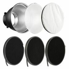 Reflector Diffuser Aluminum Standard Honeycomb Grid Studio Flash For Bowen Mount