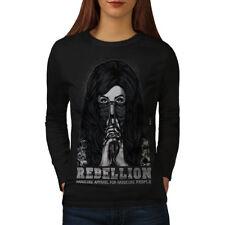 Emo Horror Girl Gangster Women Long Sleeve T-shirt NEW | Wellcoda