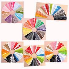 Stoffpakete Stoffstreifen Patchwork Stoffe Baumwolle - Punkte, Karos, Streifen