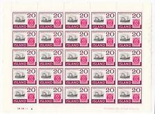 Iceland; 1973 SG506 Stamp Centenary. Mint MNH, Choose Block Size Or Sheet
