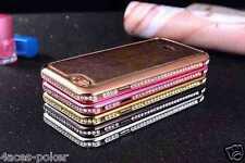 Iphone 6 Aluminium Diamant Luxus Bumper Hülle Schutzhülle Alu Case Folie Tasche