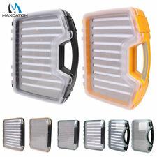 Maxcatch Large Size Waterproof Fly Fishing Box Slit/Easy-Grip Foam Double-Side