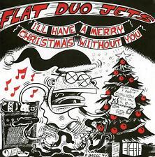 "FLAT DUO JETS Christmas 7"" NEW cramps psychobilly cbgb dex romweber"