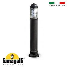 Fumagalli Sauro1100 IP55 Bollard Light Resin Black Anti-Rust Lifetime Guarantee