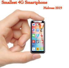 Super Mini 4G LTE Smartphone Melrose2019 Smallest Android8.1 2GB/8GB Fingerprint