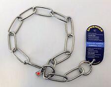 Sprenger Fur Saver Dog Check Collar - Long Link Stainless Steel Chain 4mm