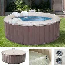 Whirlpool MSpa HWC-A62, 4 Personen In-/Outdoor Massage heizbar aufblasbar Ø180cm
