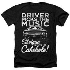 Supernatural Driver Picks Music Adult Heather T-Shirt