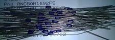 Vishay RNC50H1692FS 16.9K 1% 0.1 W militar Spec resistencias de película metálica