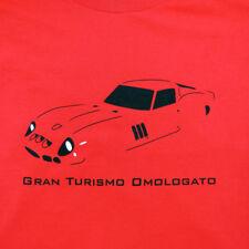 FERRARI 250 GTO T SHIRT GRAN TURISMO OMOLOGATO F1 SCCA ENZO GRAND TOURING RACE