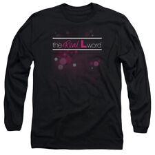 Real L Word Flashy Logo Mens Long Sleeve Shirt