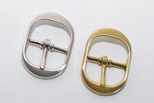 Hochwertige Gürtelschnalle von Waterbury, für ca. 25 mm Breite, Gold oder Silber