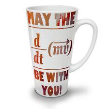 Force Math Formula NEW White Tea Coffee Latte Mug 12 17 oz   Wellcoda