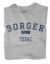 Borger Texas TX T-Shirt EST