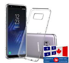Clear Cover / Étui protecteur Samsung Galaxy NOTE 3 4 5 NOTE 8