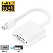 Mini DP to DVI, Mini DisplayPort to DVI w/Audio F MacBook,Surface Pro,Chromebook
