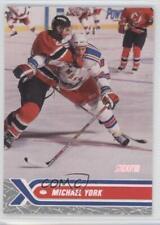 2000-01 Topps Stadium Club #44 Michael York New Rangers Rookie Hockey Card