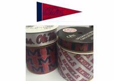 Mississippi Rebels - Ole Miss Licensed Ncaa Ribbons & Mini Pennants