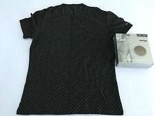 HOM t-shirt uomo righe nero/bianco girocollo mod RAY WH 94% viscosa 6% elastan