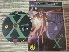 DVD ANIME MANGA X LA SERIE BY CLAMP VOLUMEN 3 DE 5 JONU MEDIA USADO BUEN ESTADO