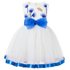 Childrens Kids Girls  Formal Fancy Princess Party Pageant Dress K51