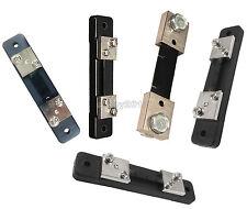 75mV DC 10/20/30/50/100A Current Shunt Resistor For Amp Ammeter Panel Meter FL-2