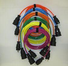 Verlängerungskabel 230V - Voll PUR-Kabel - H07BQ-F - Farbige Kabe l - BQ Kabel