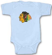 CHICAGO BLACKHAWKS Hockey Baby Bodysuit Cute New Gift Choose Size & Color
