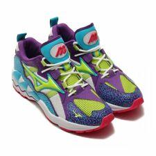Mizuno Fashion Sneaker shoes WAVE RIDER 1 D1GA1933 White x green x purple