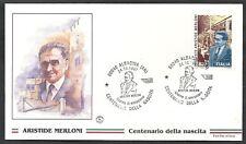 1997 ITALIA FDC FILAGRANO MERLONI NO TIMBRO DI ARRIVO - ED