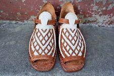 OSCARIA CON CORDONES EN V Y ROMBOS -  Mexican sandals men's