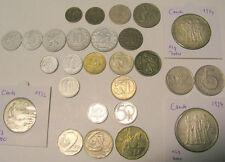 tschechische Münze  5 10 20 25 50 Heller 1 Krone 2 3 5 10 20 Kronen 1922-2003 CS