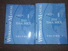 2010 Ford Edge Lincoln MKX Service Shop Workshop Repair Manual Set OEM Factory