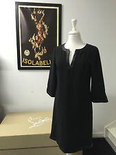 NEW George Ariel Shift Dress in Black | RRP $299