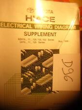 D96- Revue technique TOYOTA Hiace RZH10- 11- 125 135 153  LH10- 11- 125 Aug 1991