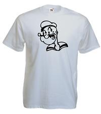 T-shirt Popeye the sailor man, cartoon, dessin animé,vintage S/M/L/XL, NEUF, NEW